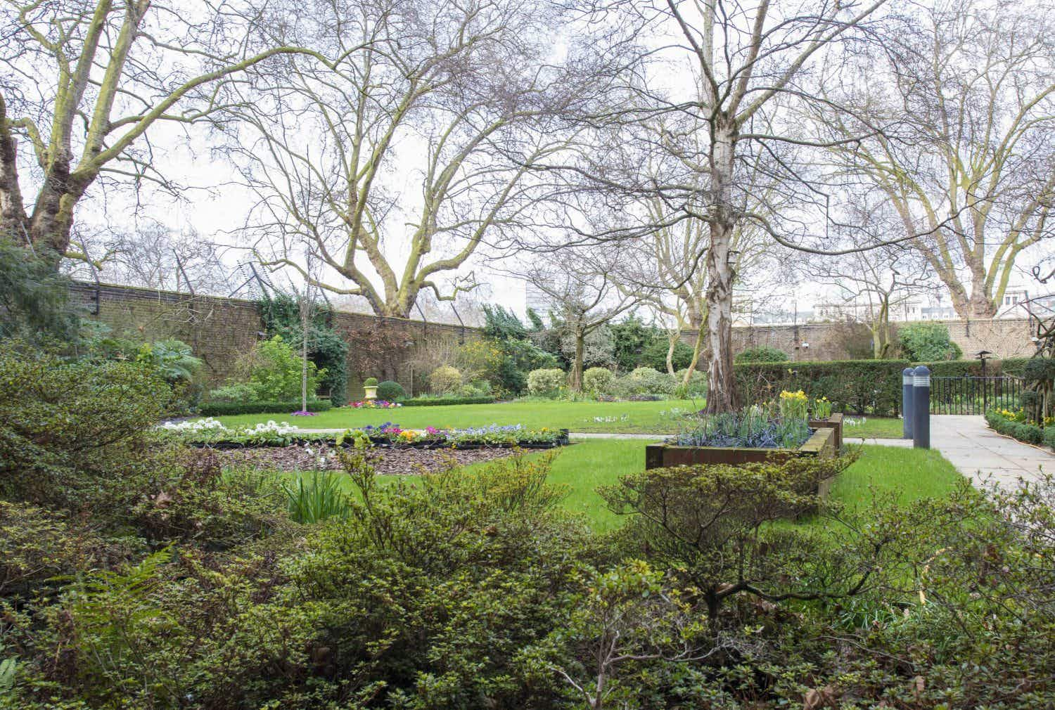 Take a peek inside the gardens at No 10 Downing Street