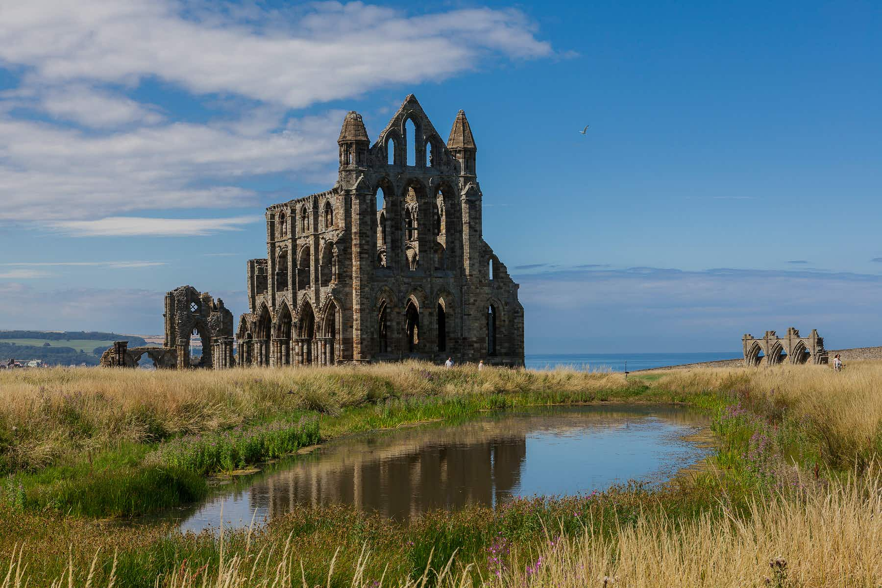 Whitby Abbey's visitor upgrade will bring its dramatic legends to life