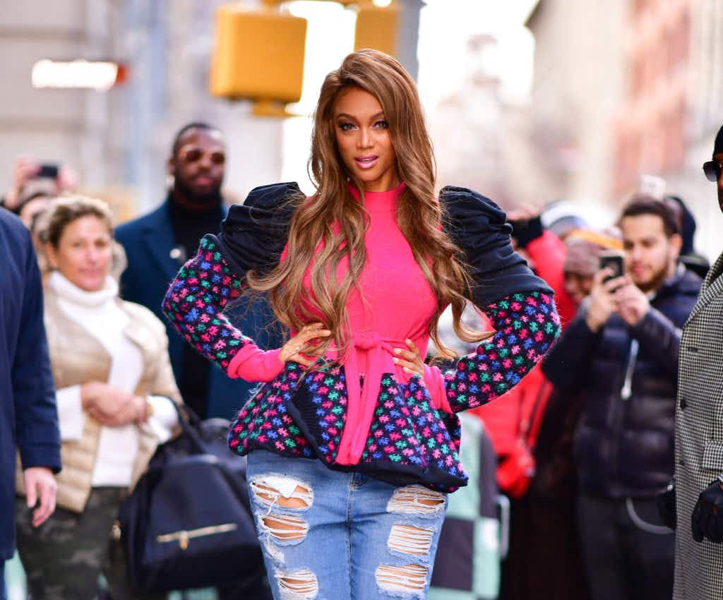 """Tyra Banks plans her own amusement park to """"bring modelling to the masses"""""""