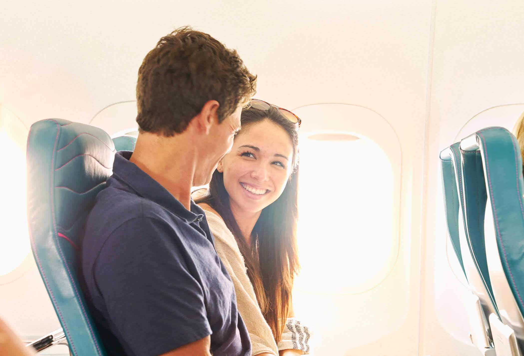Frequent fliers could fall in love on a flight with this new app