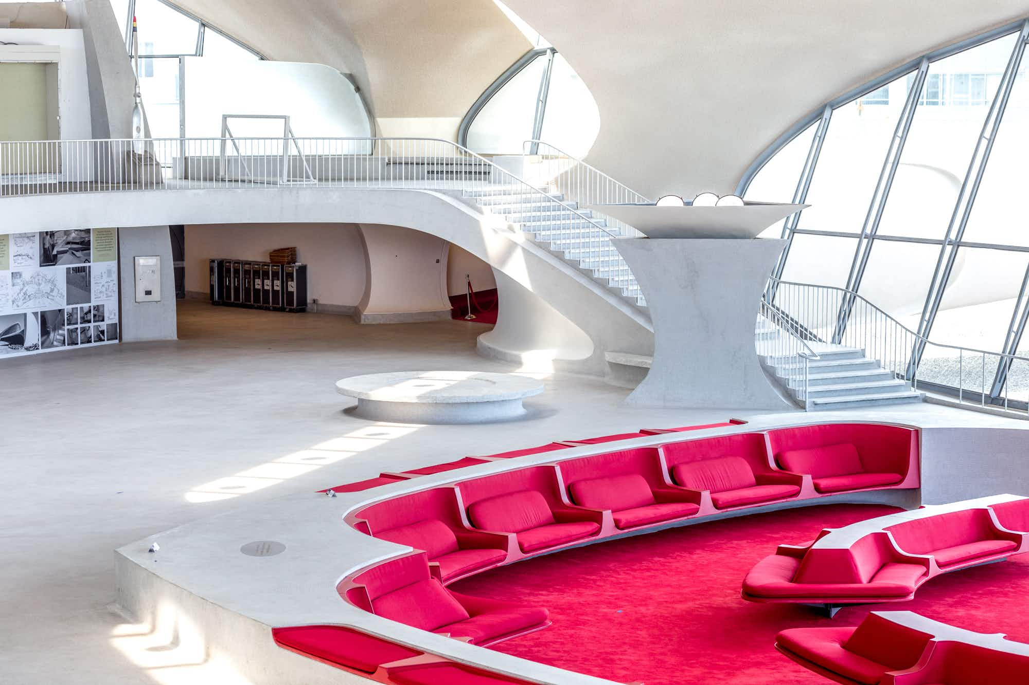 The retro TWA Hotel at JFK is taking reservations