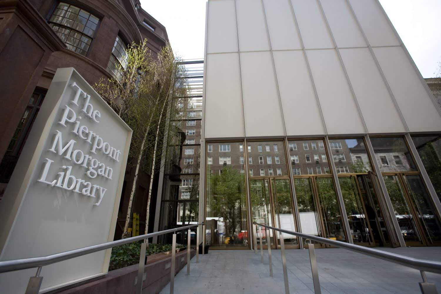 New York's Morgan Library is getting a new look