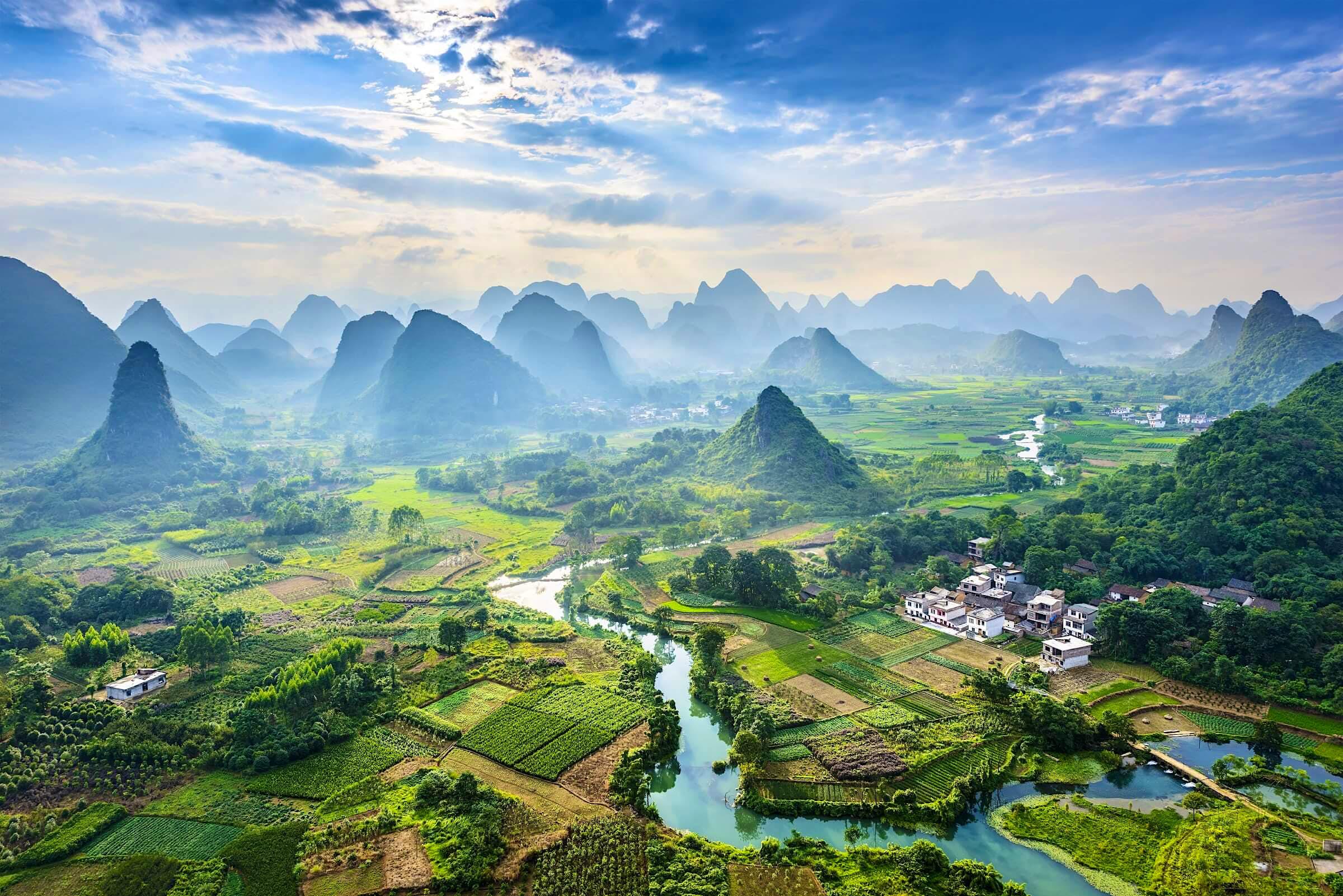 Noticias de viajes - cubierta de follaje de china