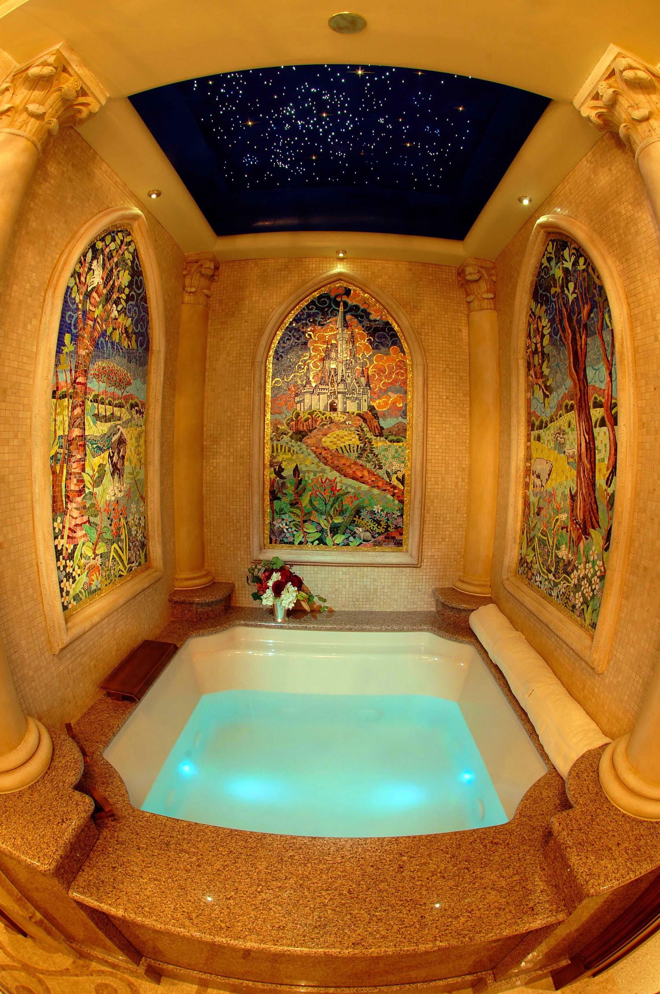 Travel News - cinderella bathtub