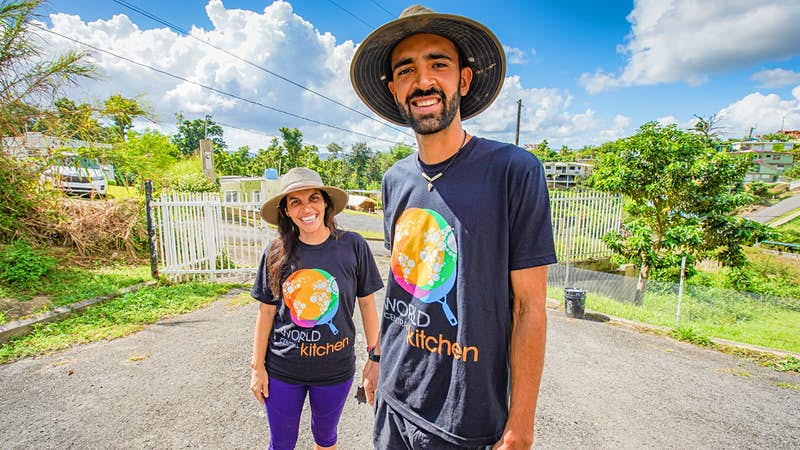 Help Puerto Rico's hurricane recovery efforts by volunteering for a day on farms