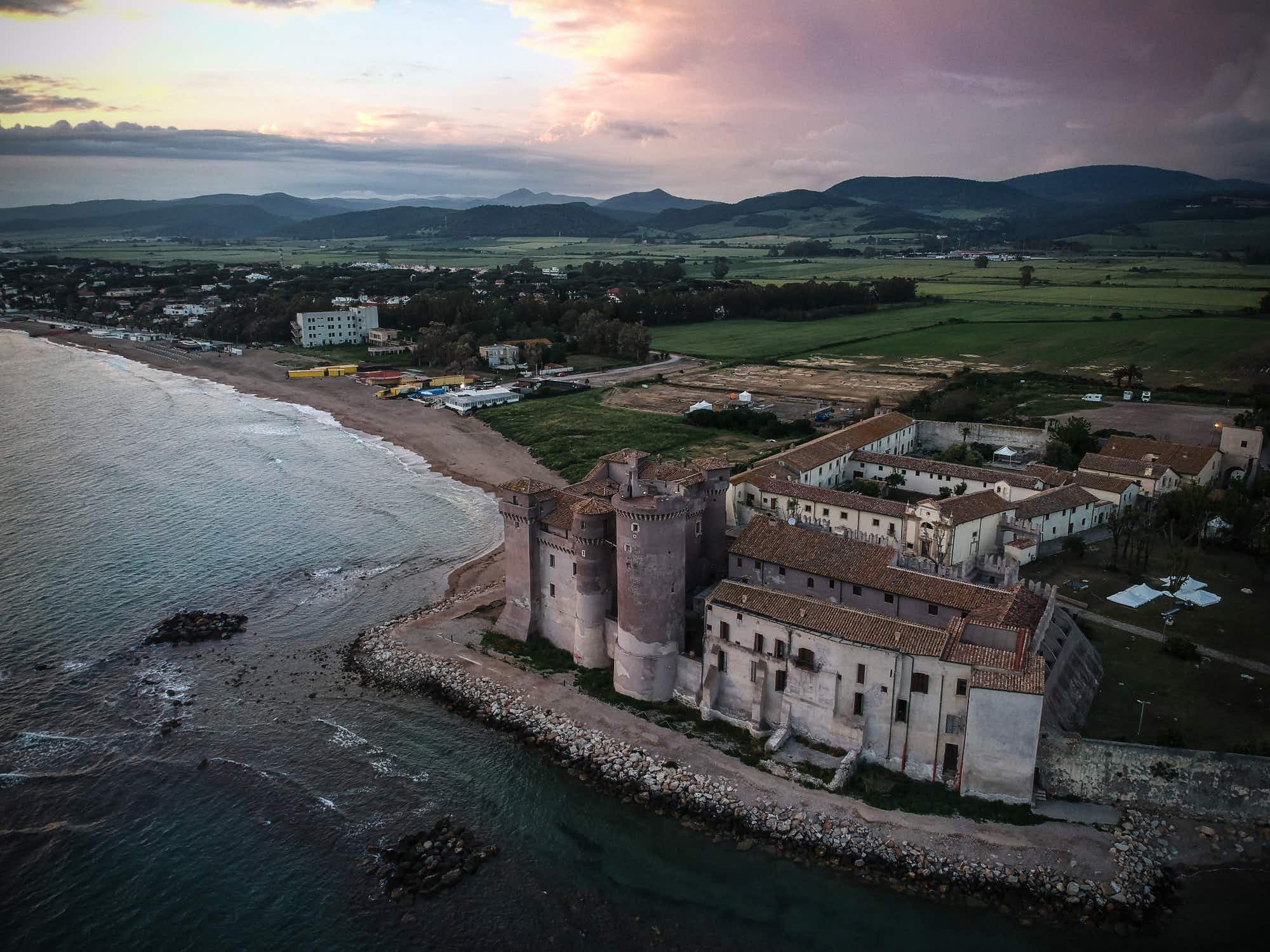 This medieval Italian castle is hiding a very modern hostel