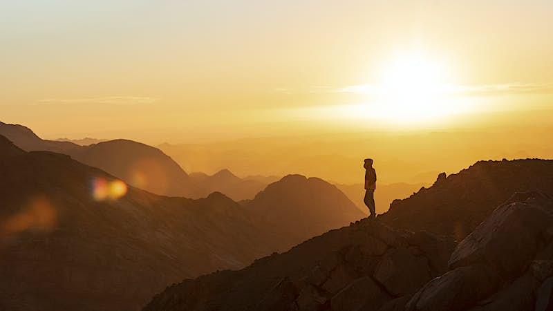 Travel News - Hiker on Jebel Um Samyook, by NOUR EL DIN