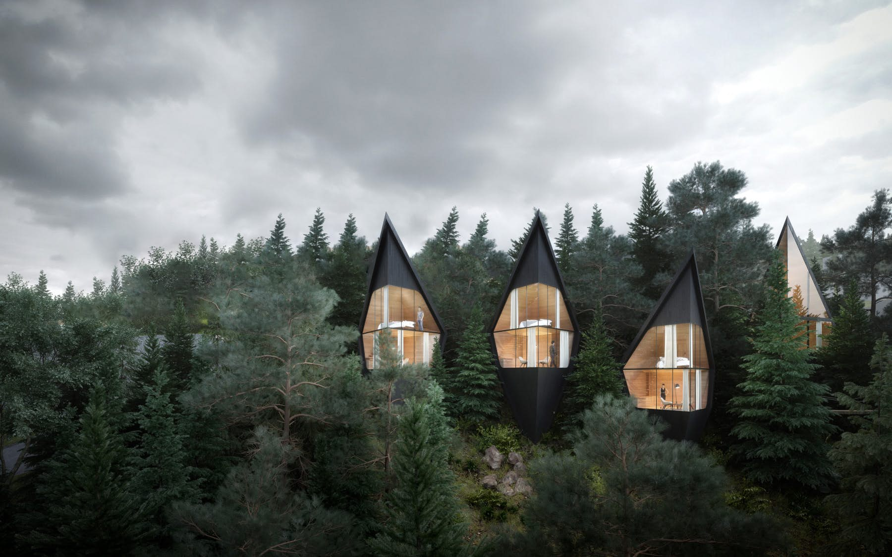Check Out These Designs For Unique Modern Tree Houses In The Dolomites Lonely Planet