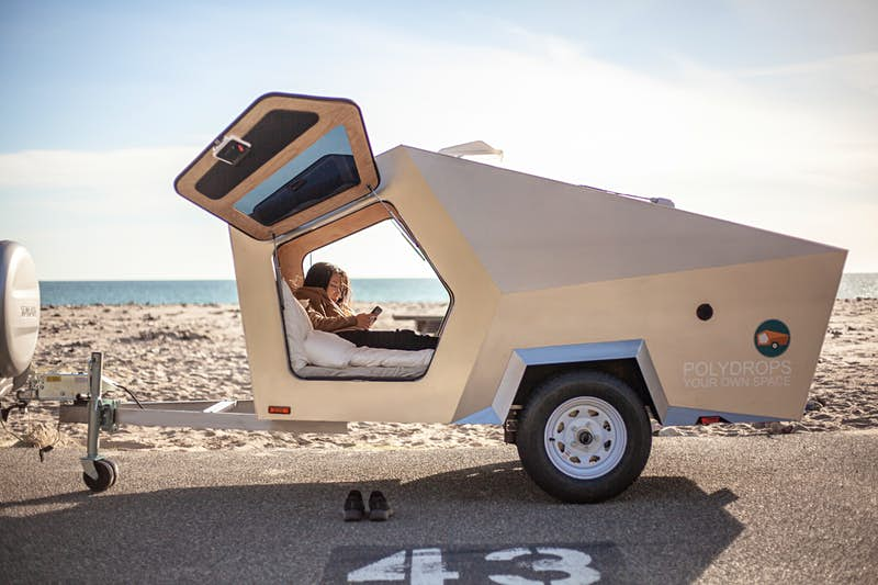 Hit the open highway with this futuristic trailer