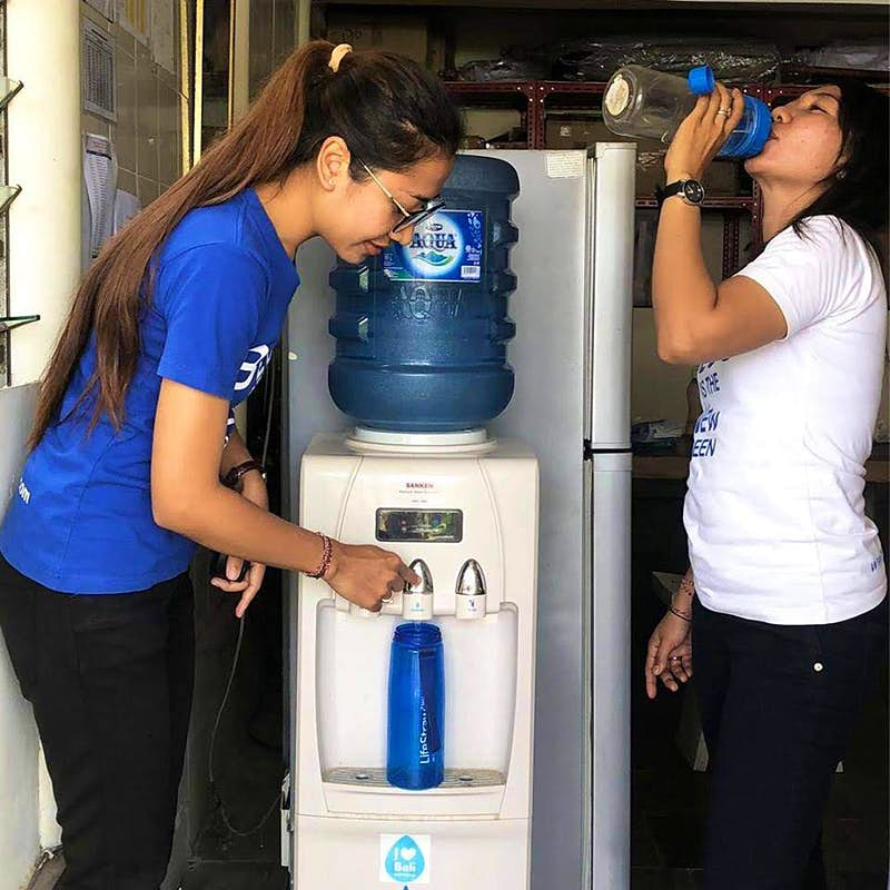 Drink more water while saving the environment in Southeast