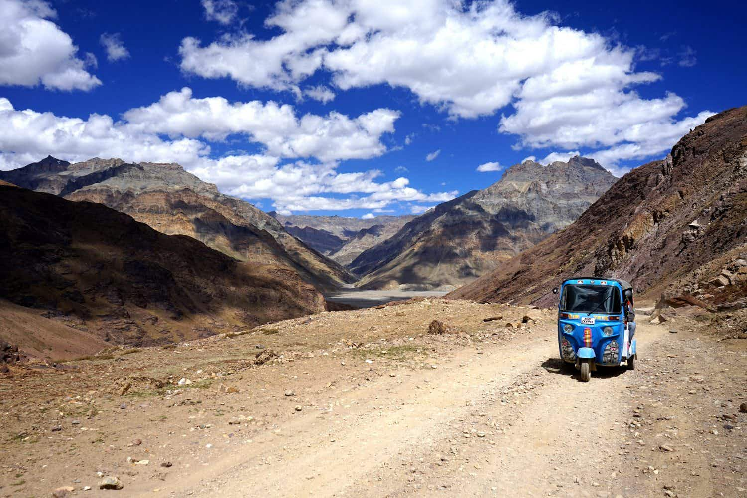 How to travel across the Himalayas in a rickshaw
