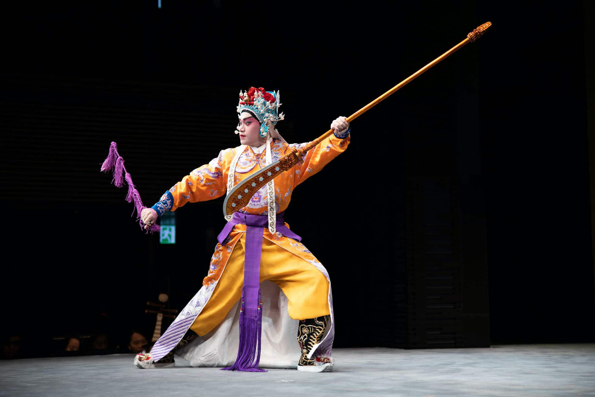 Enjoy dim sum and tea with a dose of Cantonese Opera in Hong Kong