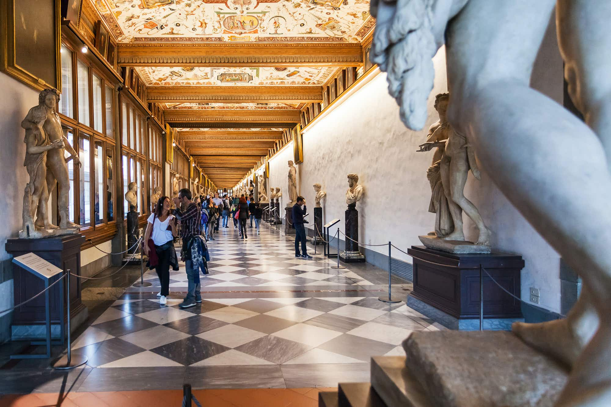 Florence's mysterious Vasari Corridor is set to reopen to visitors