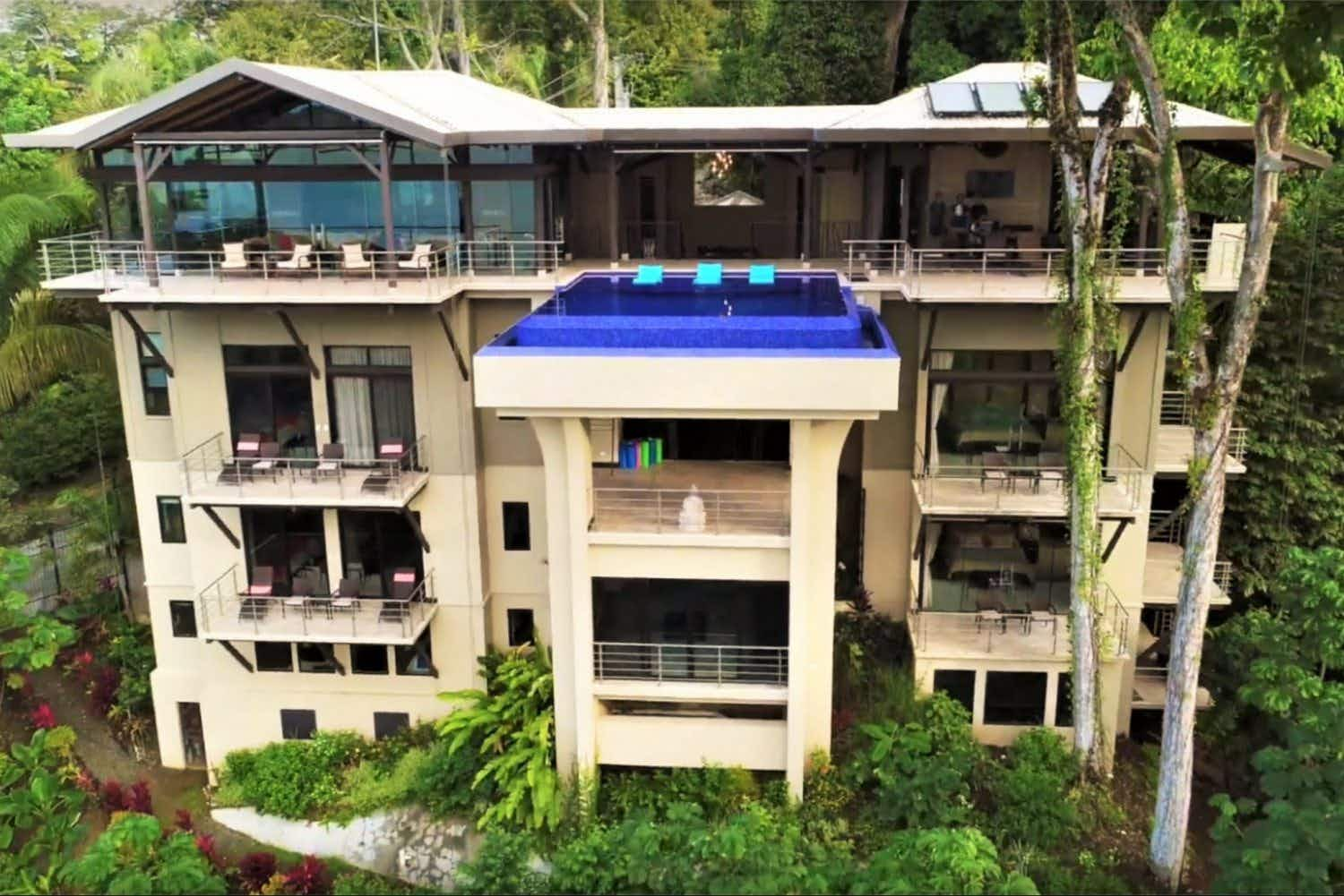 Rent this stunning eight-bedroom home in the wilderness of the Costa Rican jungle