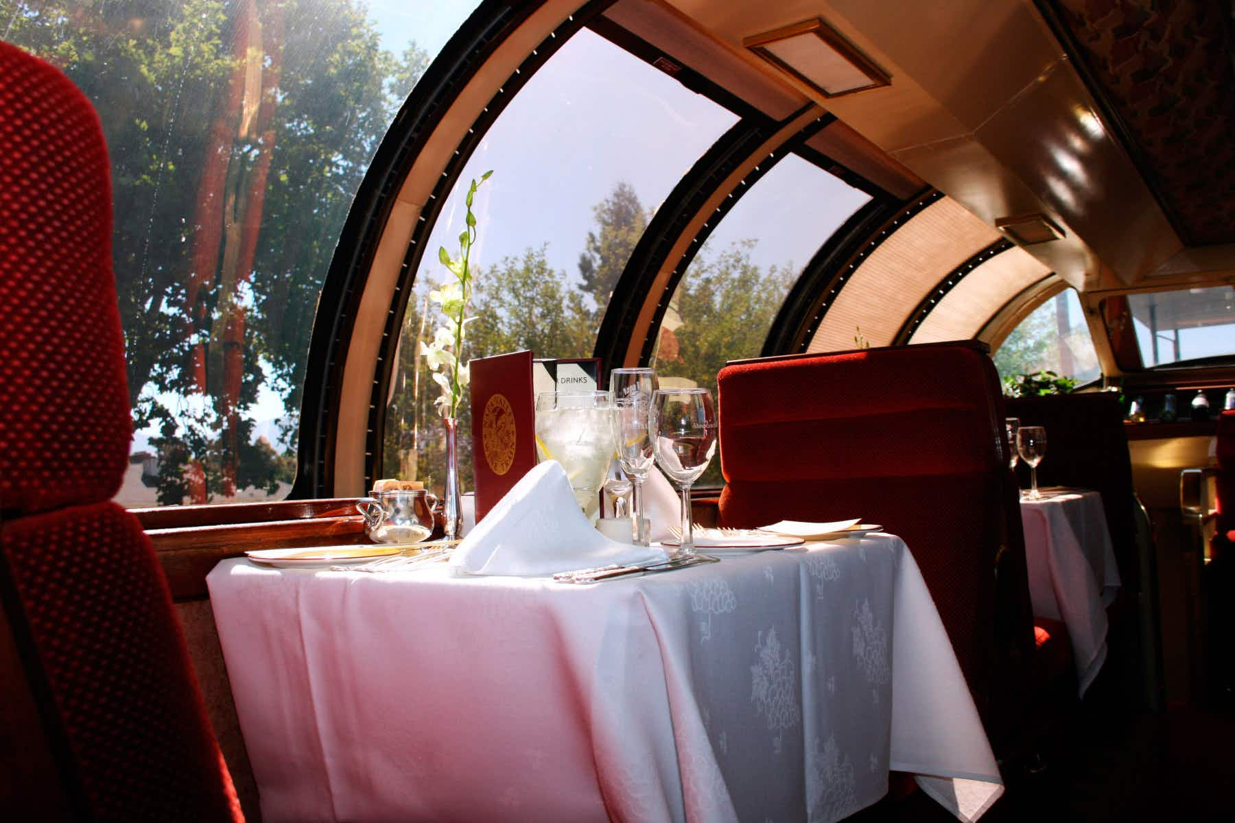 Solve a 1920s murder mystery aboard a wine train in the Napa Valley