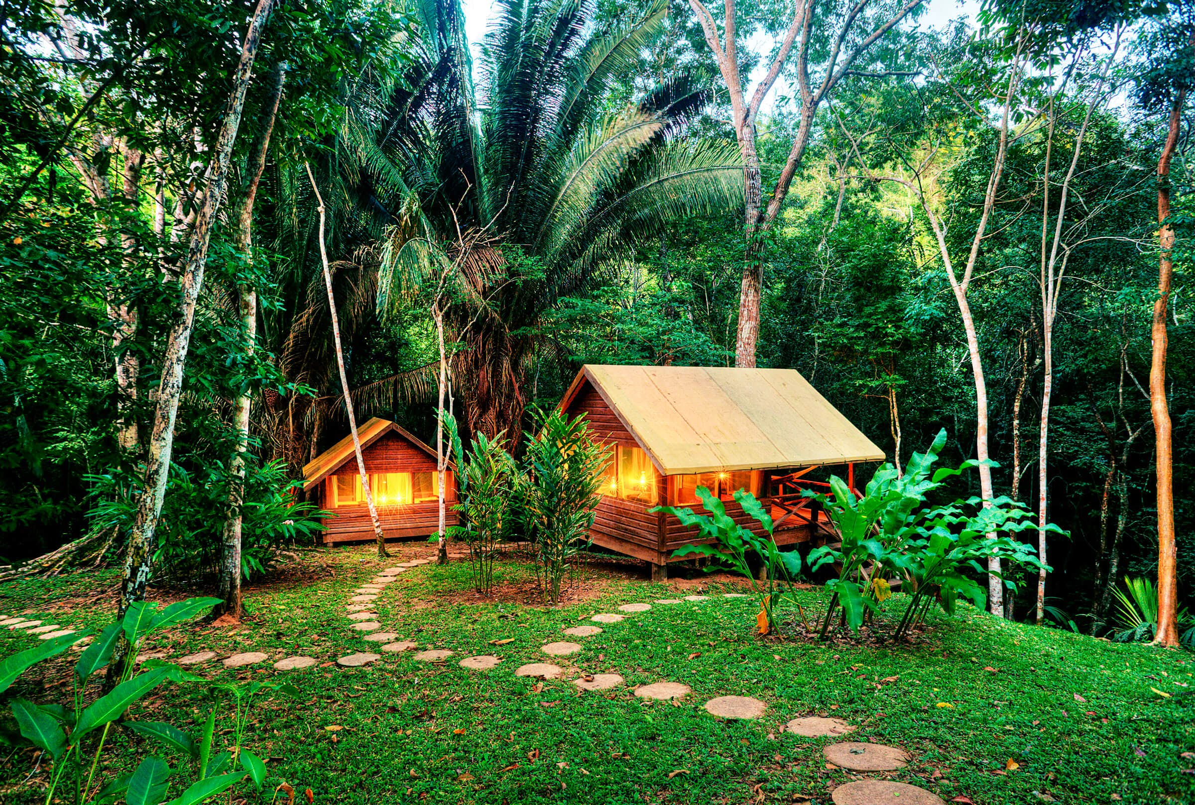 An eco-lodge in a Belize rainforest is tempting travellers on a budget