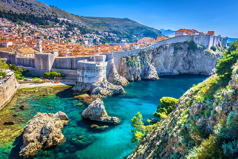 Dubrovnik in Croatia.