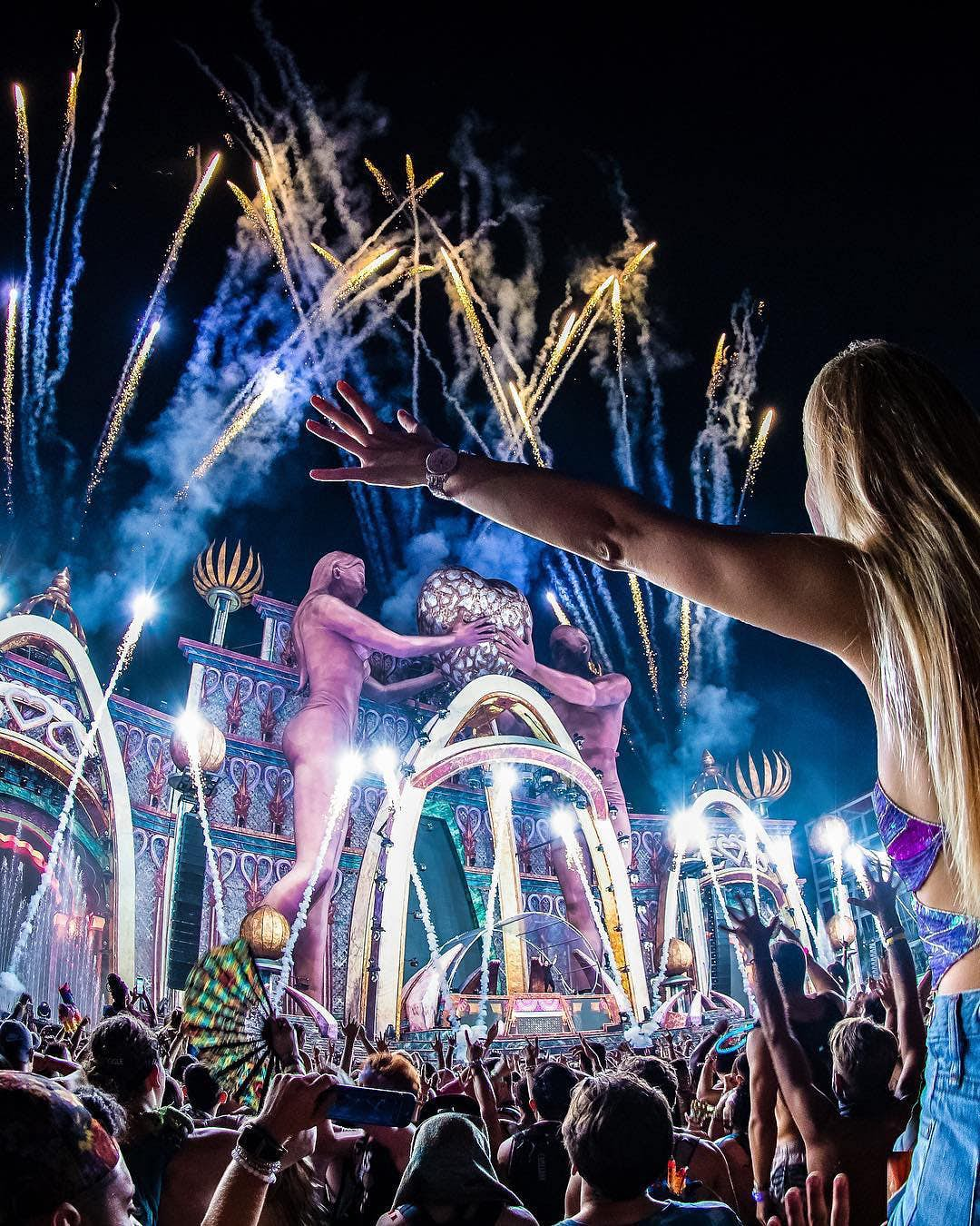 9. EDC: Electric Daisy Carnival, USA – 719,352 hashtags The Las Vegas festival is an annual electronic dance event this year being held on 17-19 May. The festival was first launched in 1991-1993, before picking back up in 1997 and running every year since. What makes this fest extra-special is the 3D superstructures, glow-in-the-dark apparatus, and art installations – plus the selection of funfair rides. This year's acts include 4B, Paul Oakenfold and Paul Van Dyke. credit @edc_lasvegas Instagram