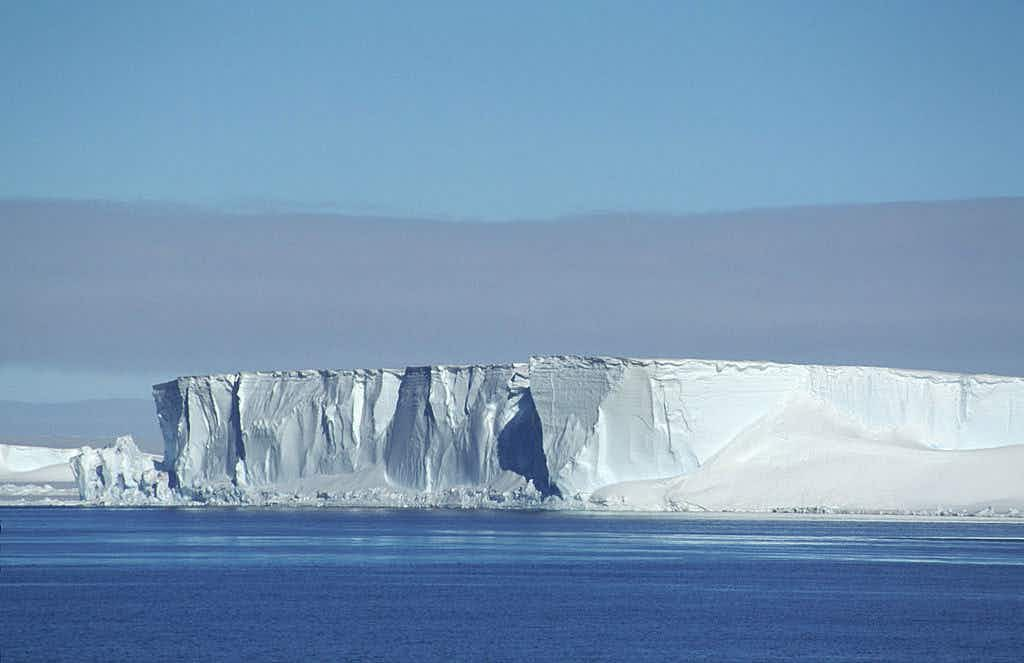 An iceberg twice the size of NYC is about to break off an Antarctic ice shelf