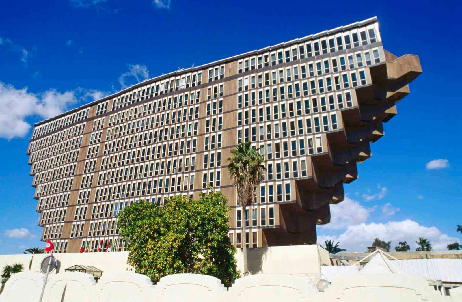 The 'upside-down' hotel said to have inspired Star Wars 'Sandcrawler' faces demolition
