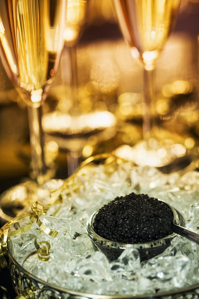 Travel News - Caviar and Champagne