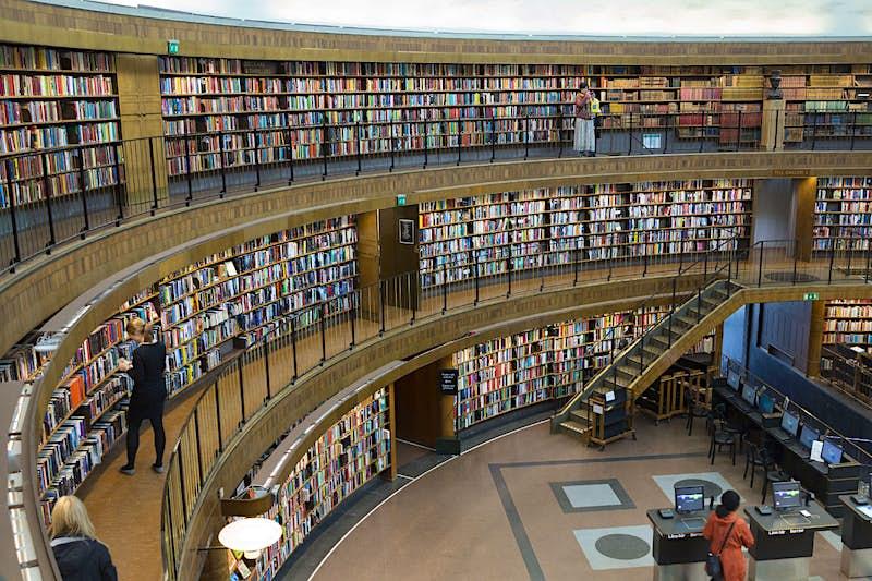Travel News - Stockholm Library