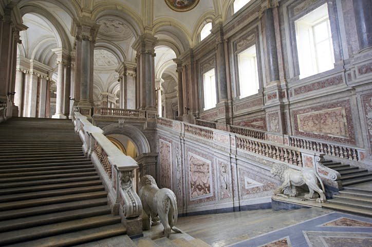 """The Naboo Royal Palace interiors were on the other hand """"borrowed"""" from the Palace of Caserta in Italy, close to the city of Naples. Photo by tanukiphoto/Getty Images"""