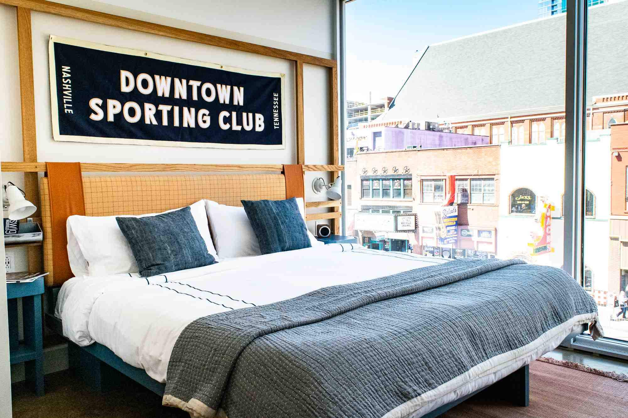 Fancy a bit of axe-throwing before hitting the rooftop bar? Stay at this new Nashville hotel
