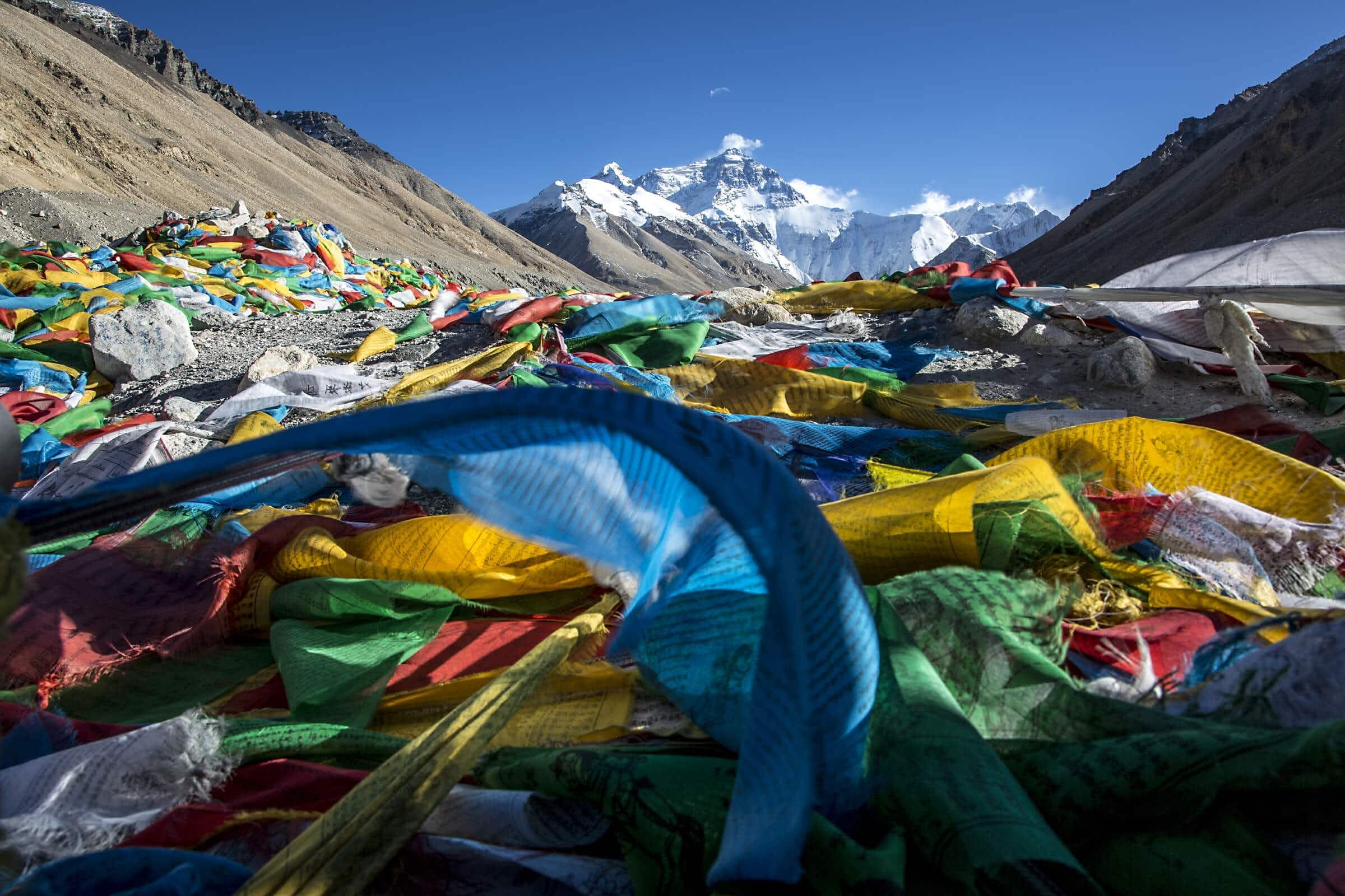 Tibet's Everest Base Camp is closed to tourists