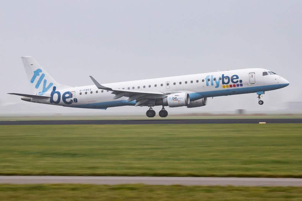 British low-cost airline Flybe cancels dozen of flights unexpectedly