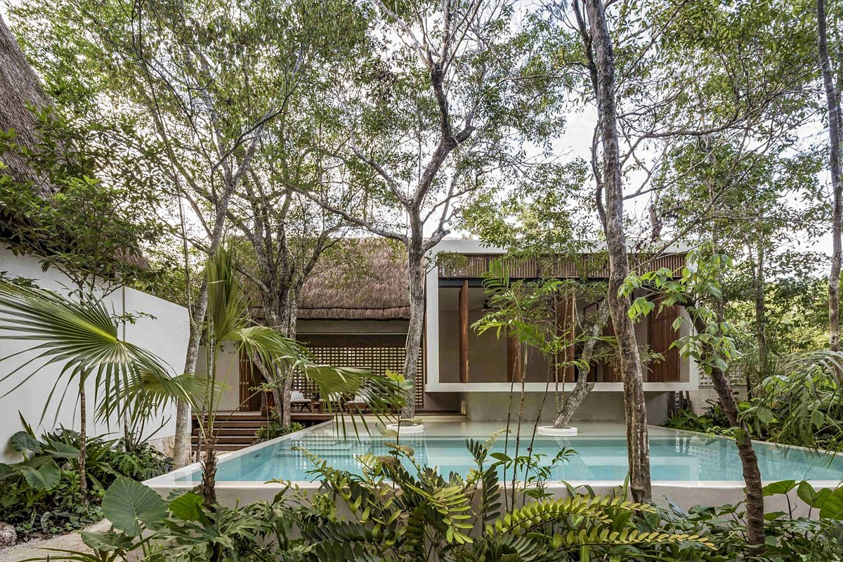 Stay in Tulum's village of eco-lodges in the heart of the jungle