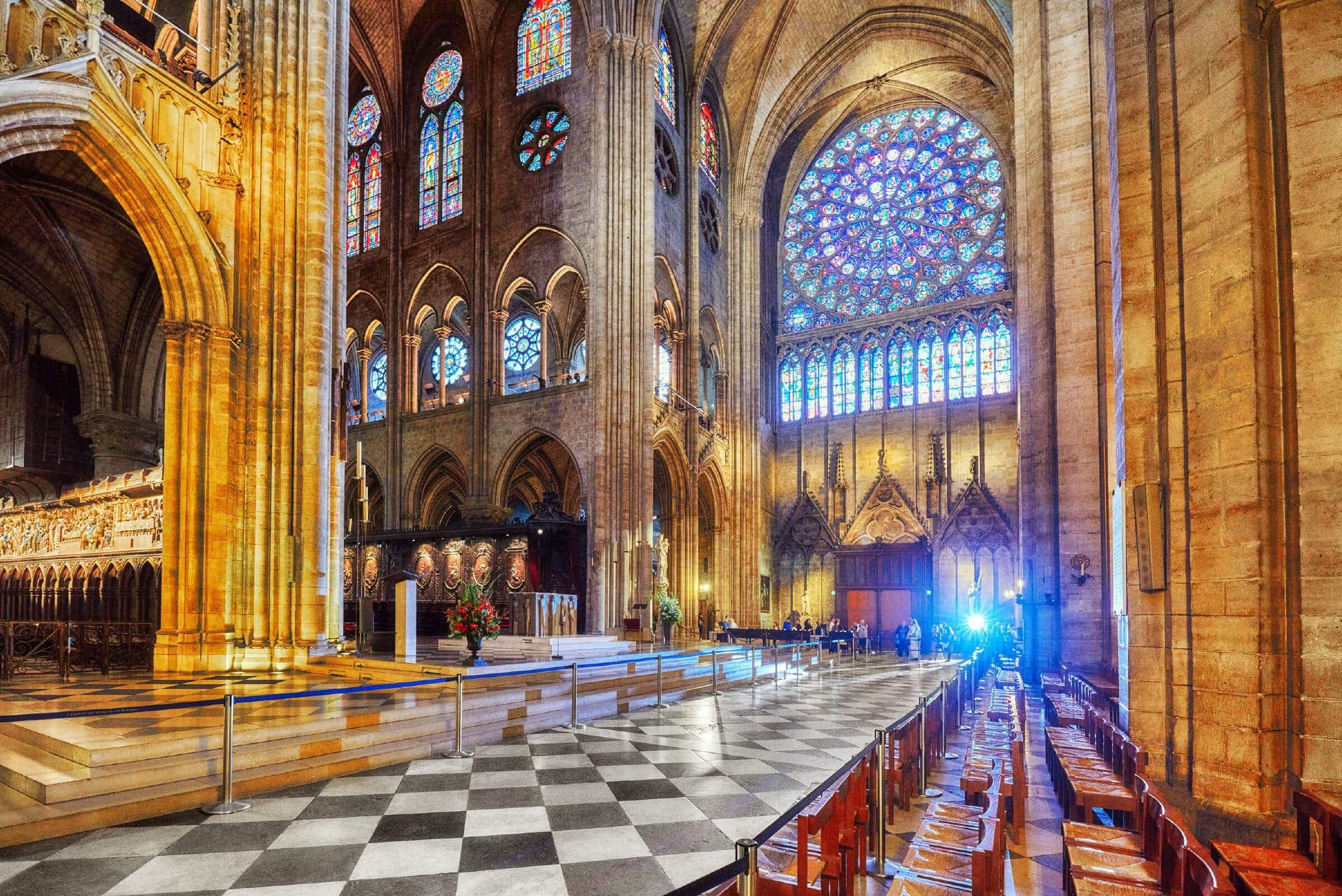 """""""Notre Dame was built to last until the end of the world. I am devastated."""""""