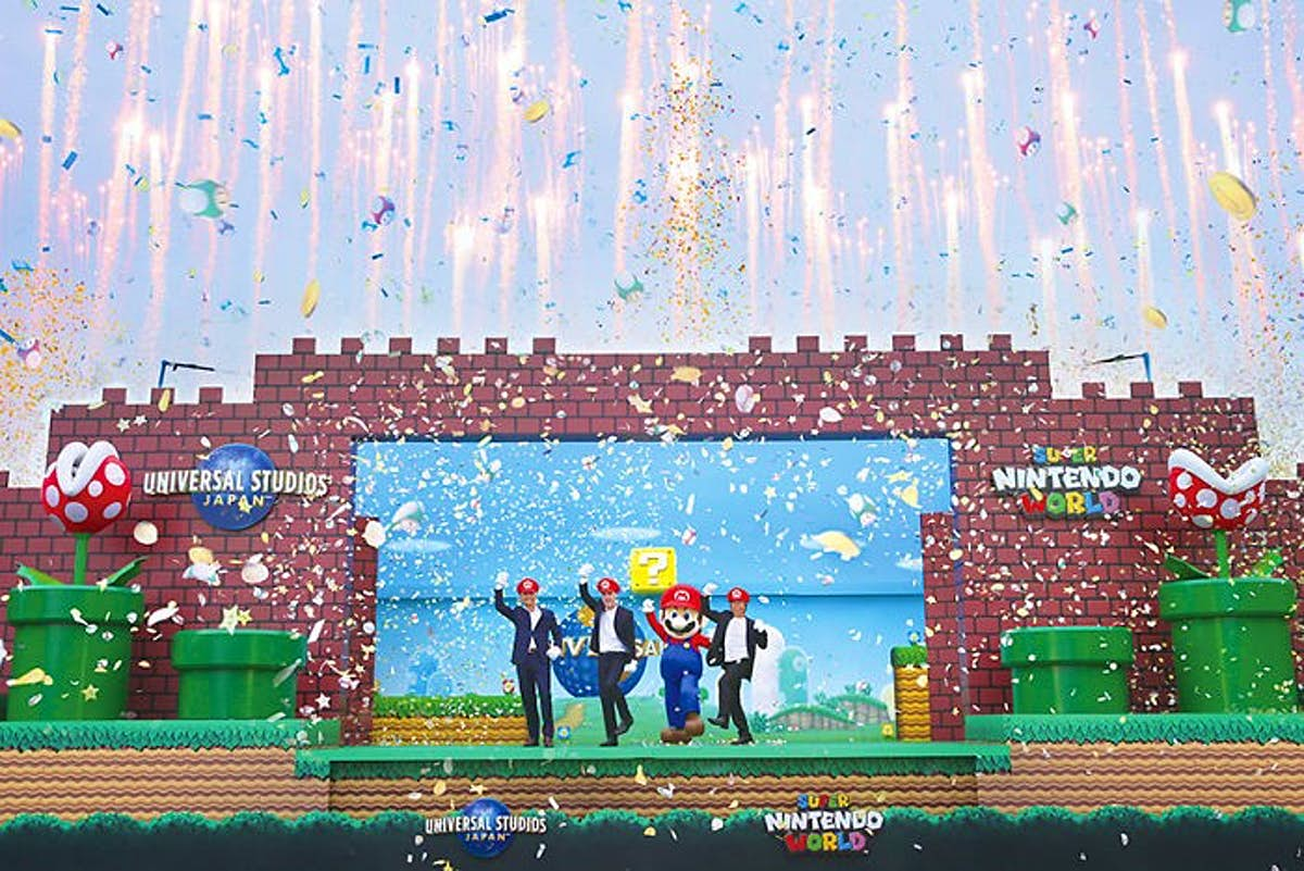 Super Nintendo World is coming to Universal Orlando Resort