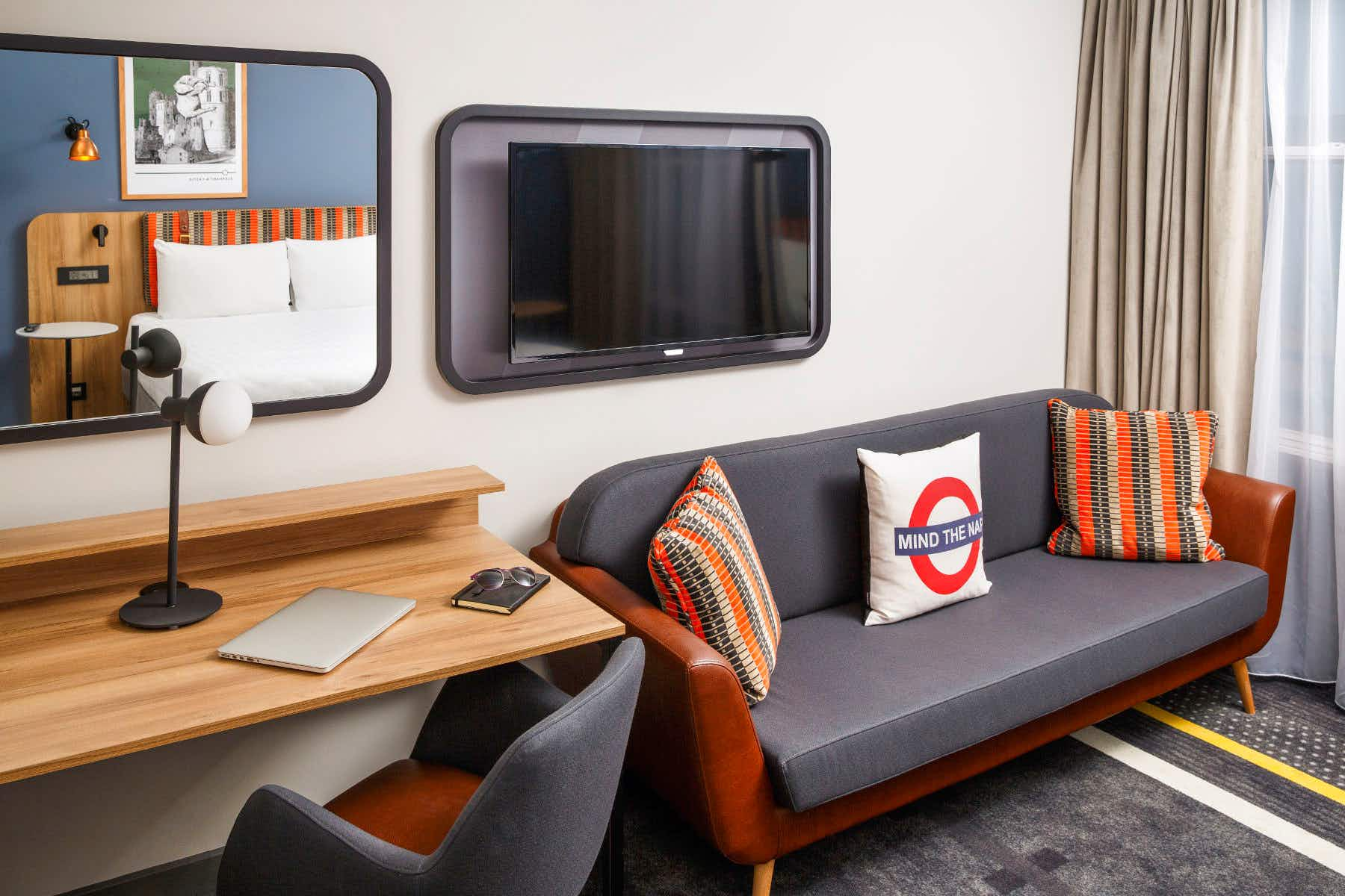 This funky Tube-themed hotel in London is open for business