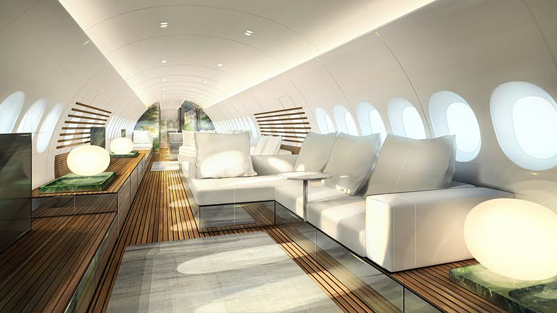 The incredible interior of this new Airbus looks like a