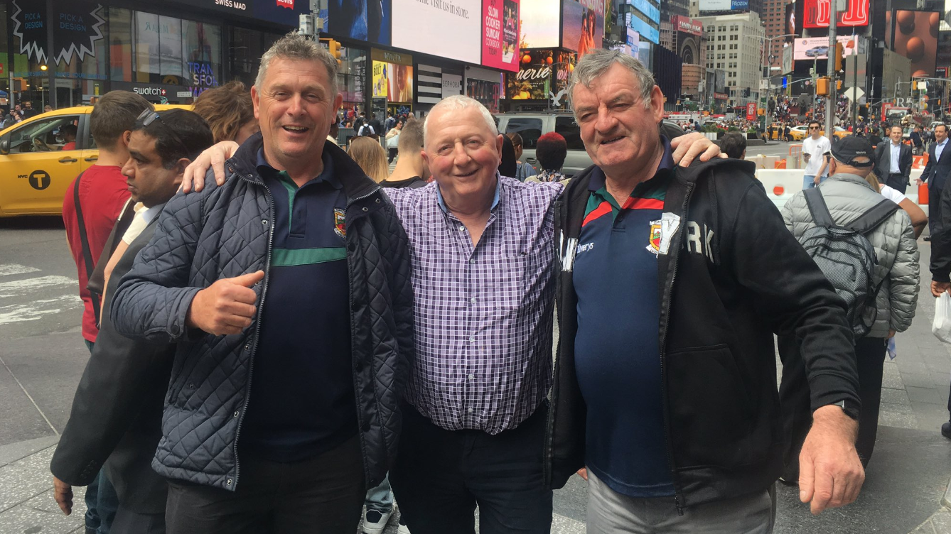 'We'll find it someday' - Irish tourists reunited with photo taken by stranger in New York