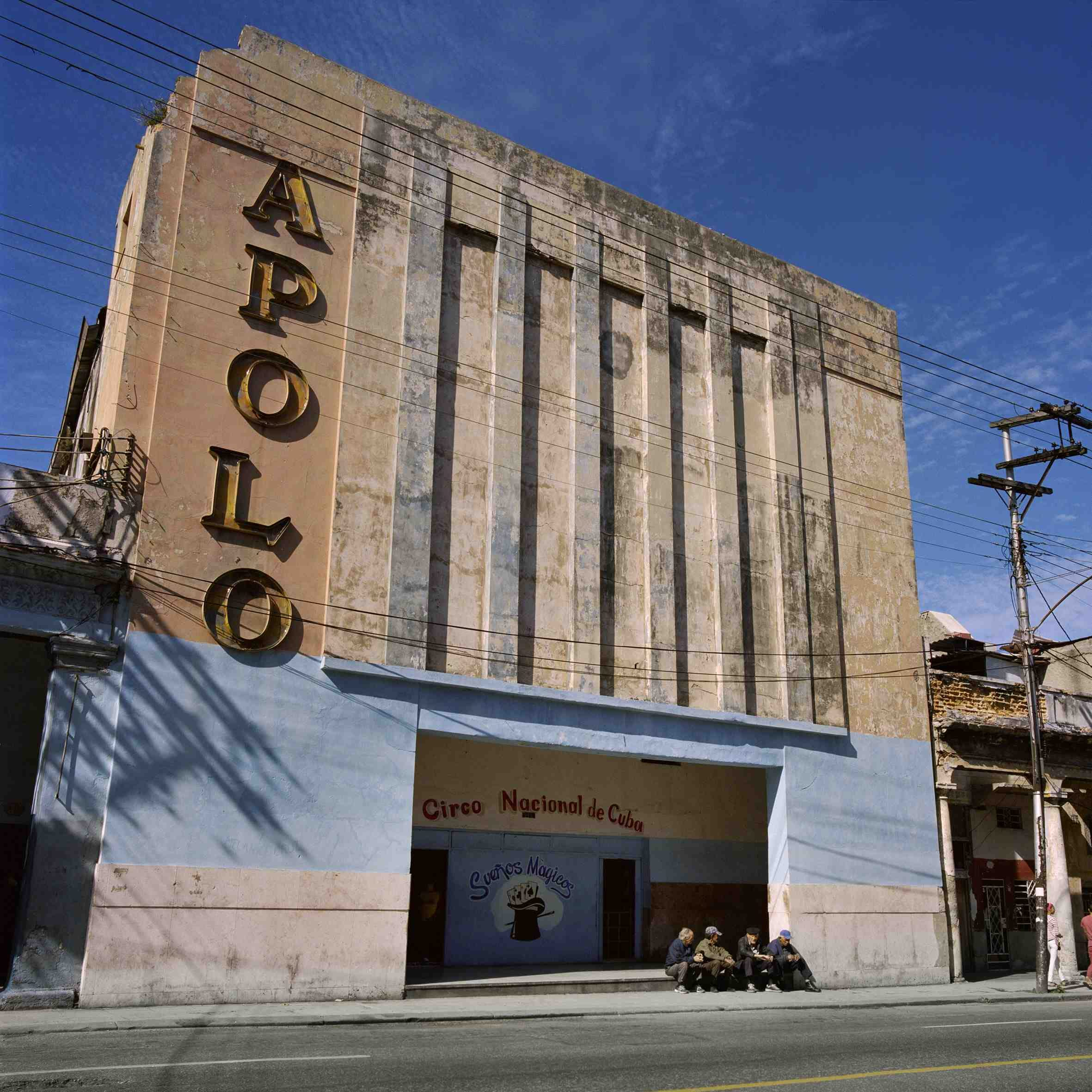 Over time, most of the movie theatres have either been transformed or abandoned.