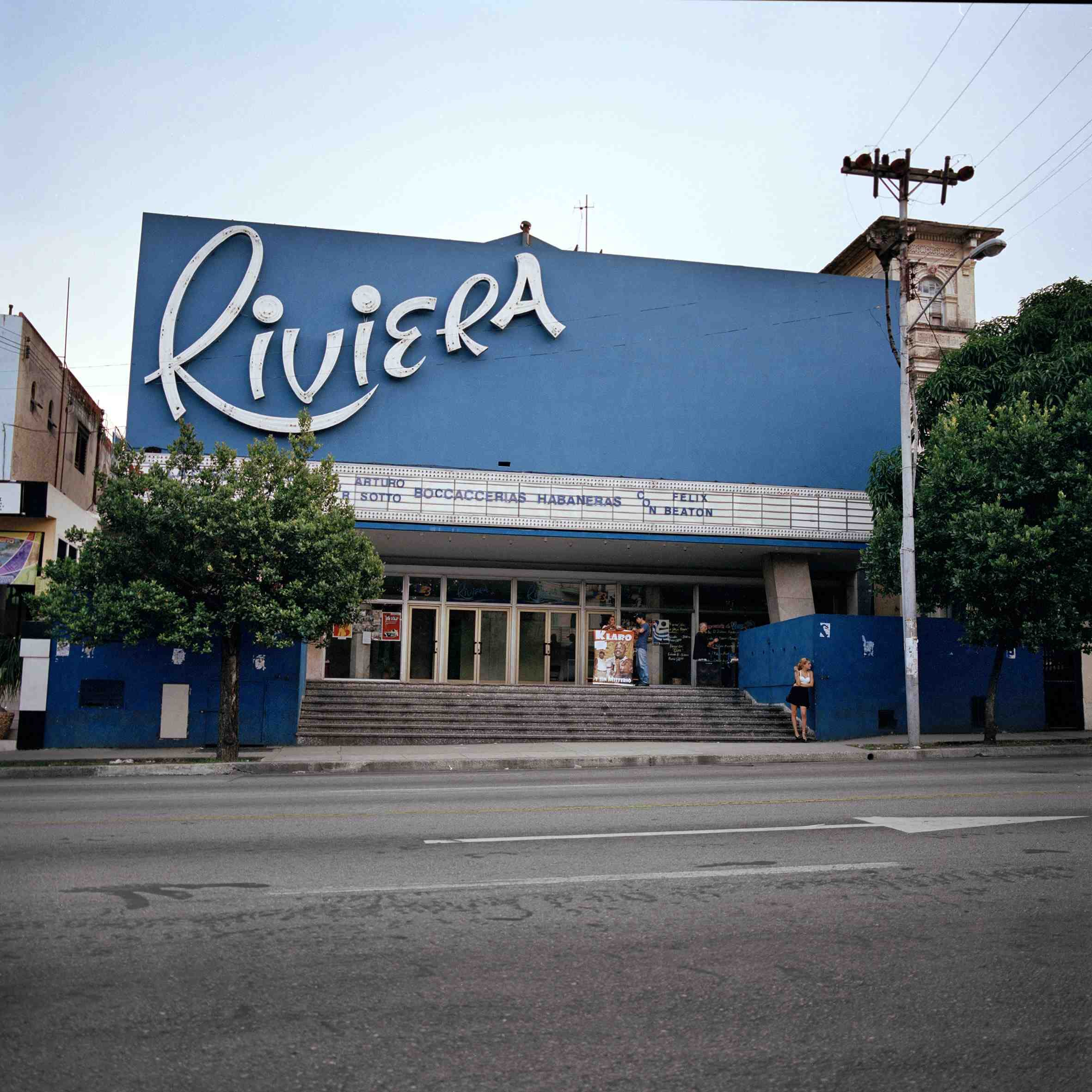 Cine Riviera opened in Havana in 1946 and still screens movies today.