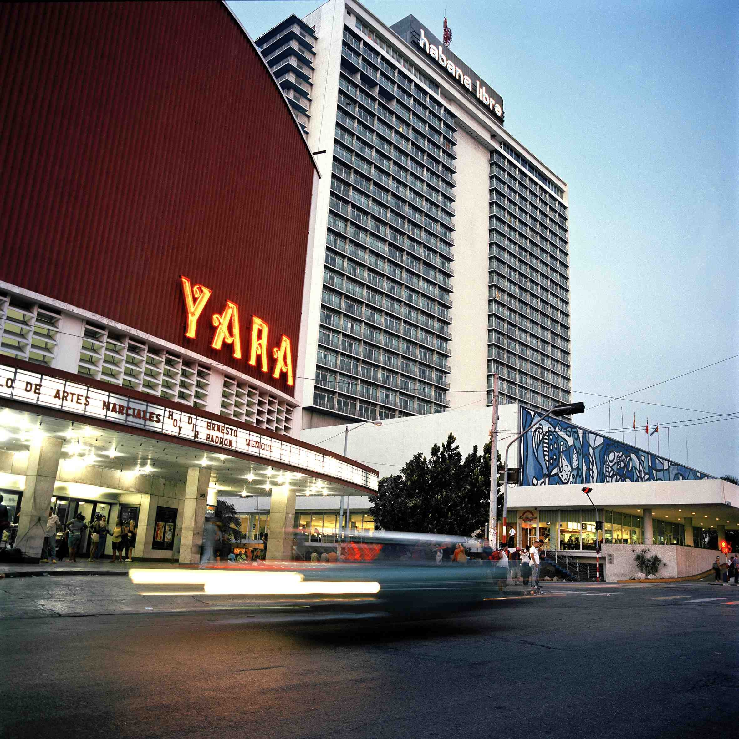 The Yara is another popular movie theatre.