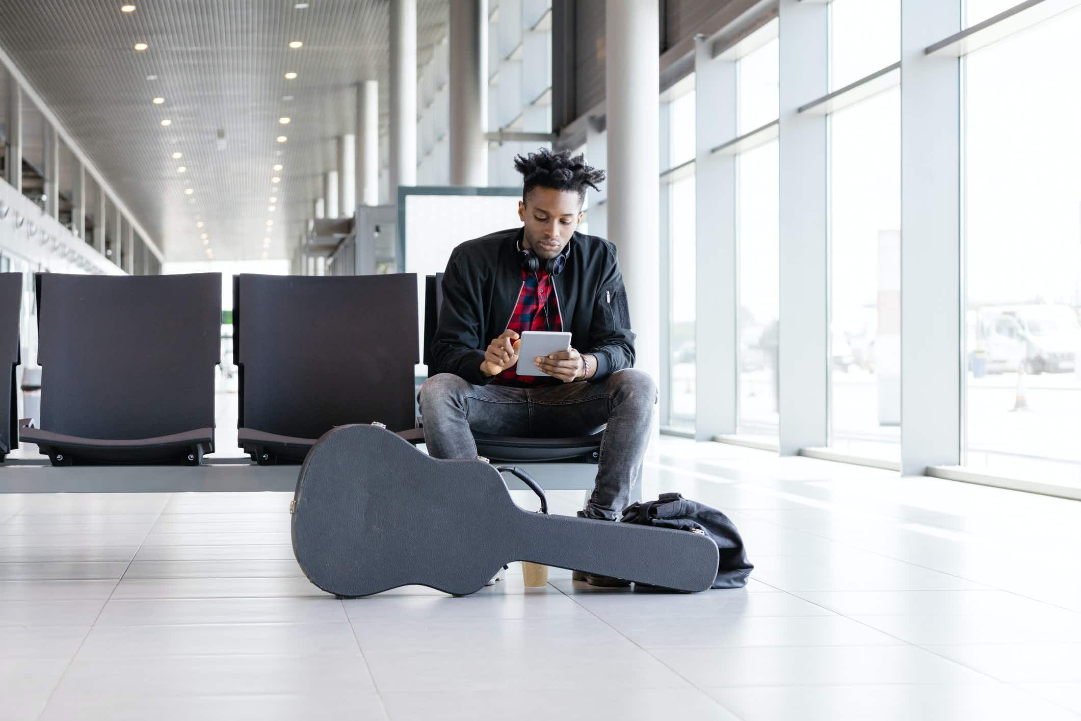 Why it's cheaper for athletes, artists and musicians to travel with this airline