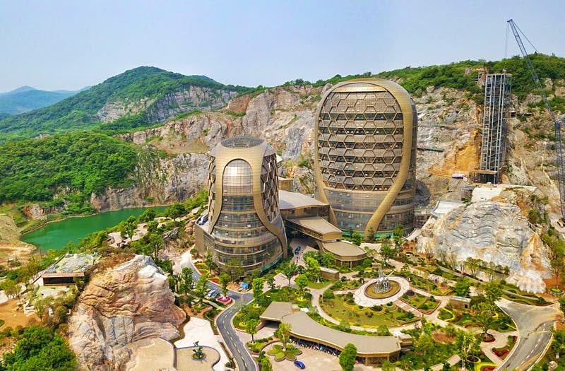 Inside China's incredible new honeycomb hotel