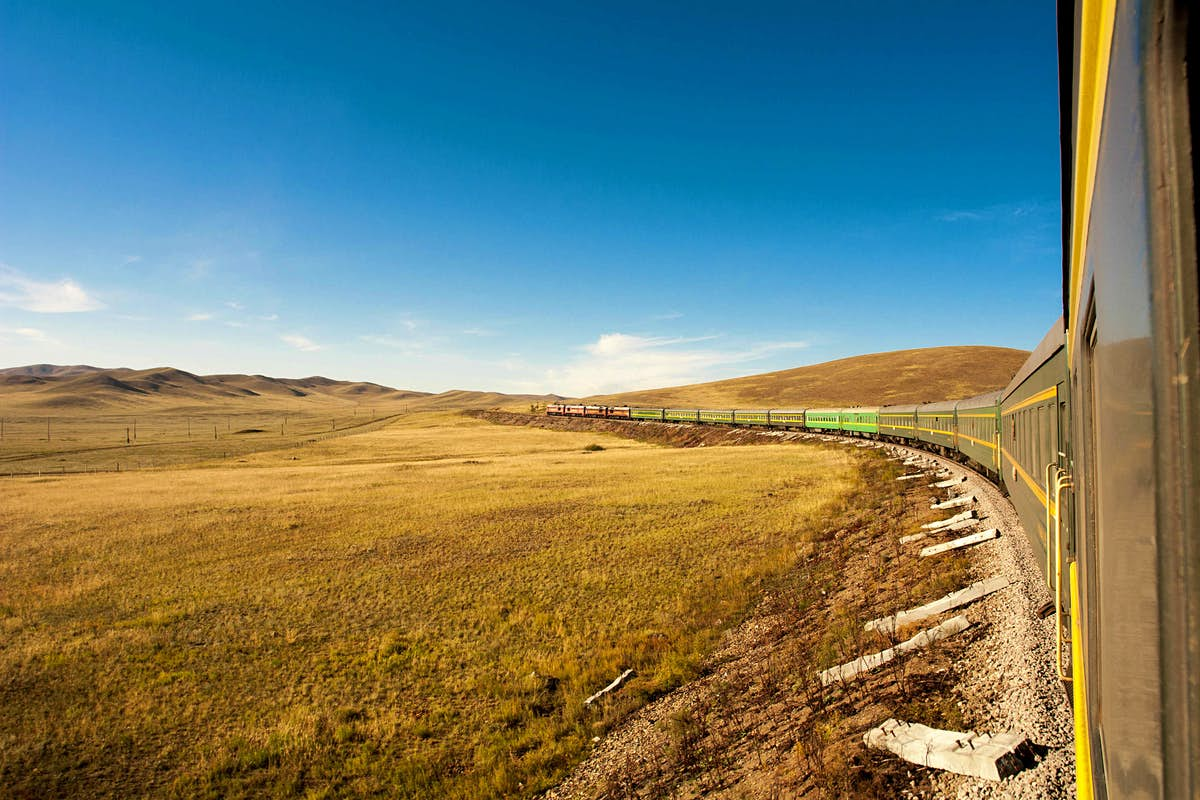Take a trip by rail around 14 countries on four continents in 56 days