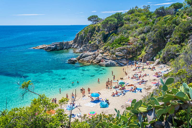 The Italian island of Elba will refund your stay if it rains too much