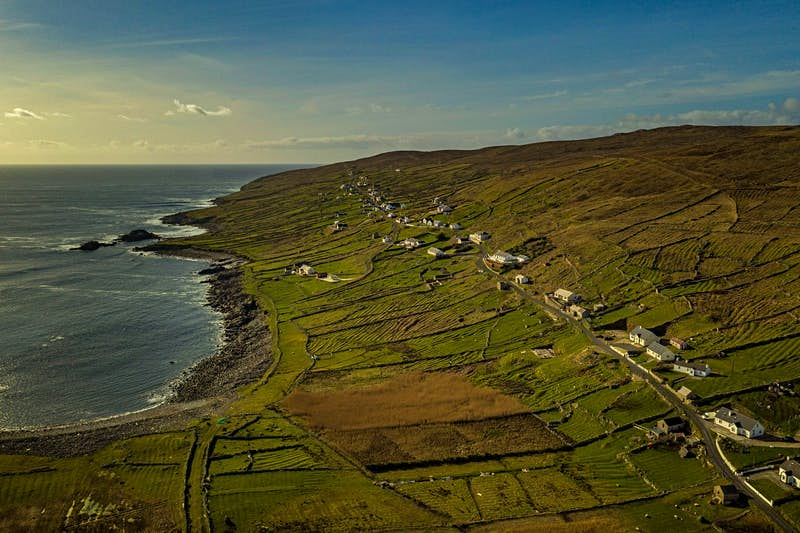 Arranmore Island off the west coast of Ireland.