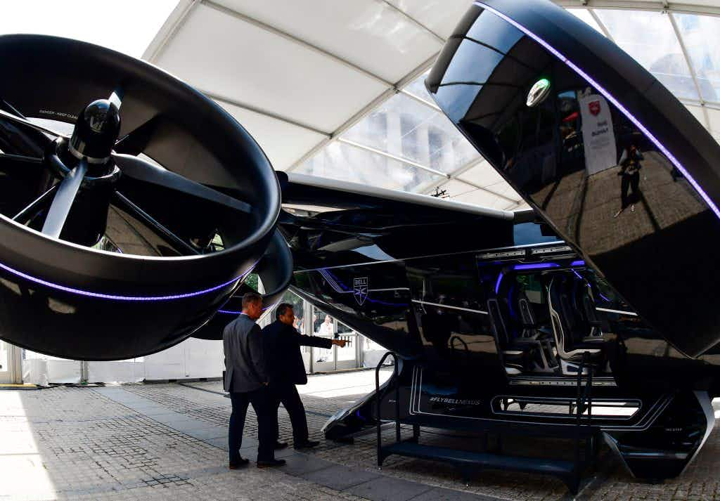 Take a look inside Uber's flying taxis as Melbourne set to be trial city