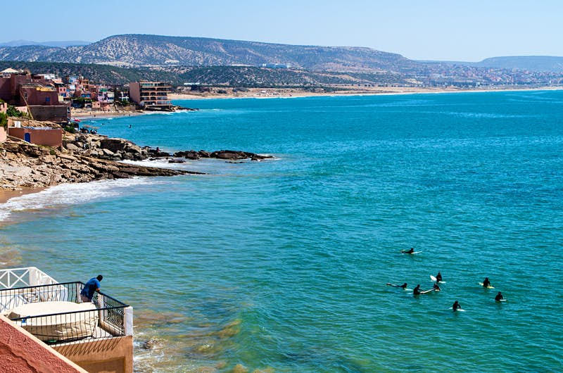 Morocco's Taghazout surf spot tktkt