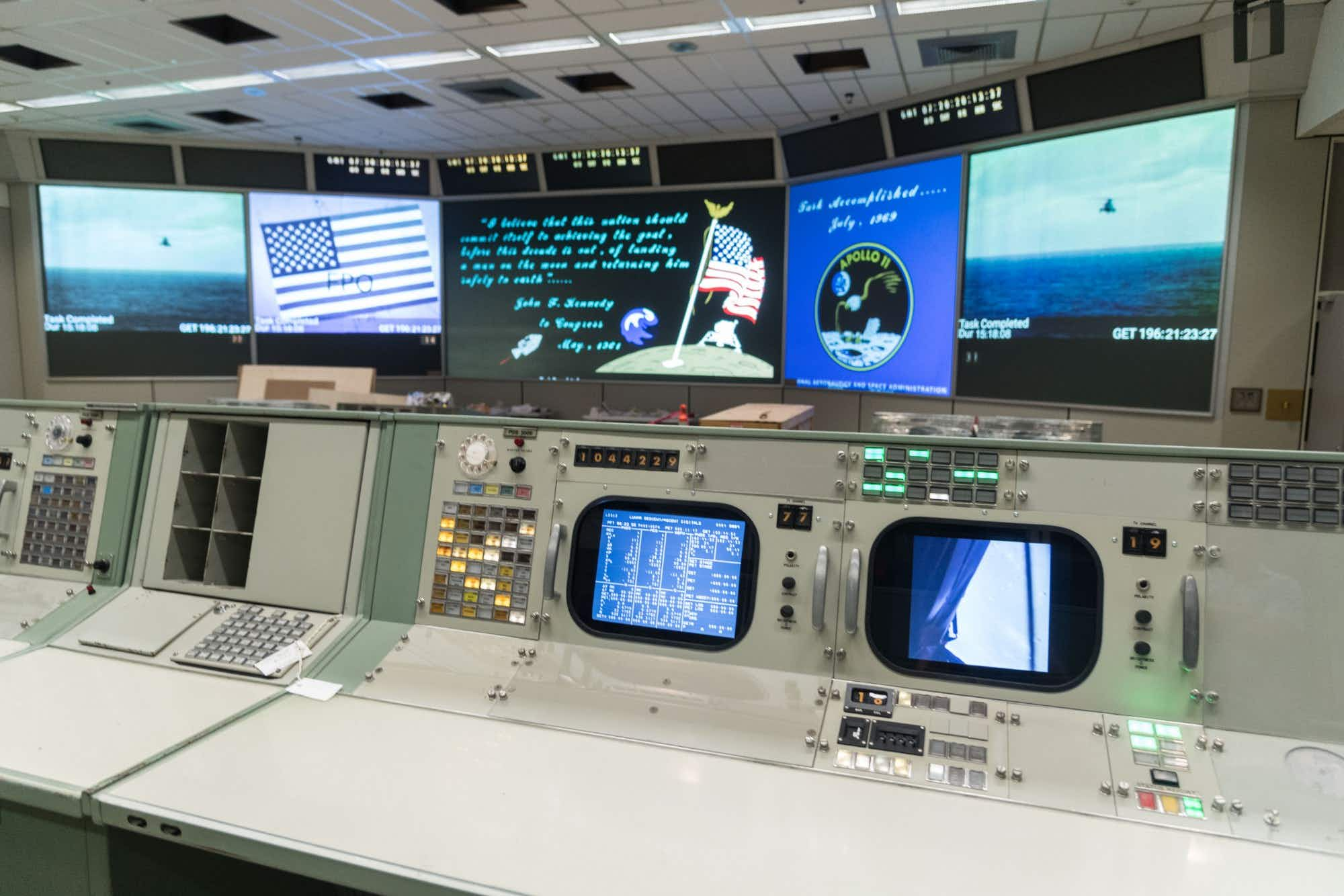 Houston's Mission Control Center restored in time for the lunar landing's 50th anniversary
