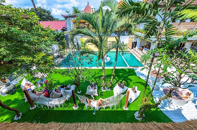 The Puri Garden Hotel and Hostel in Ubud