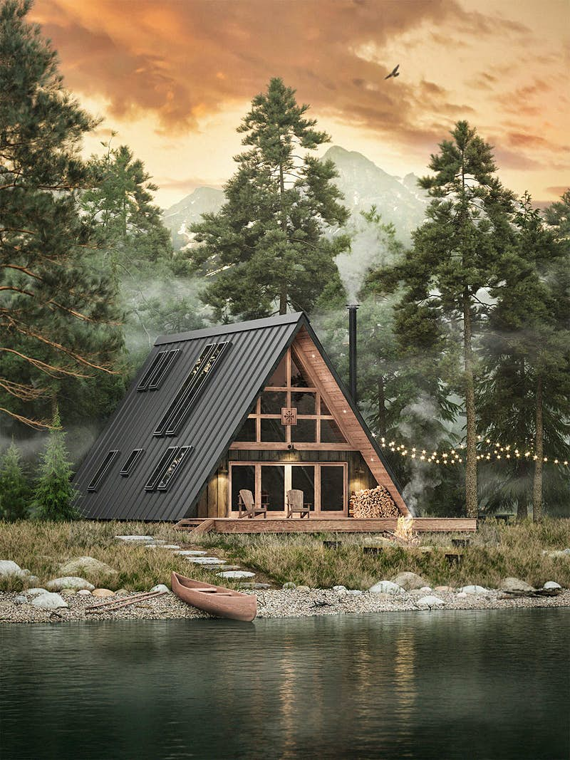 Build your own beautiful and sleek flat-pack cabin with this company - Lonely Planet