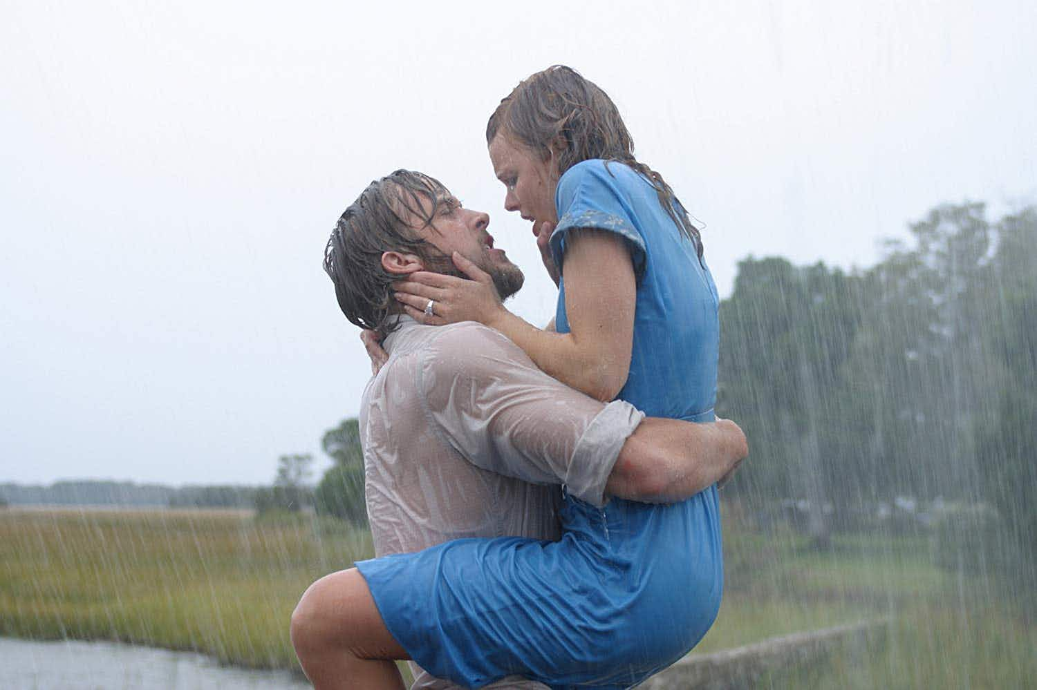 Celebrate The Notebook's 15th anniversary by re-creating the famous scenes